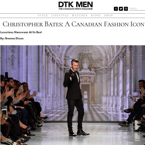 DTK MEN Article on Christopher Bates