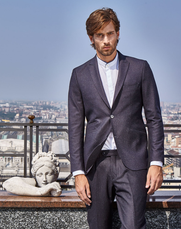 Male Modal Suit By Christopher Bates