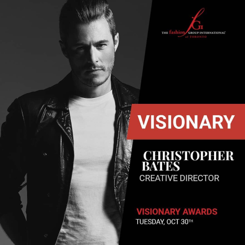 Visionary Awards Christopher Bates Cover