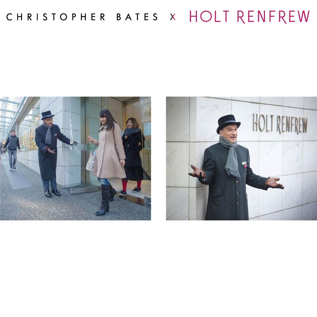 Christopher Bates Holt Renfrew side by side Uniform
