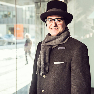 Christopher Bates Holt Renfrew Uniform