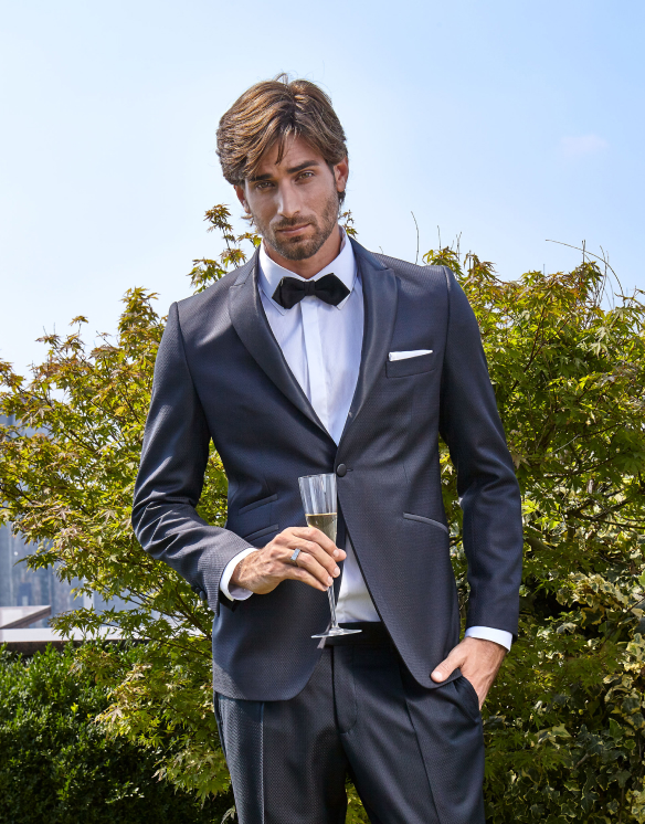 Male Modal with Suit By Christopher Bates